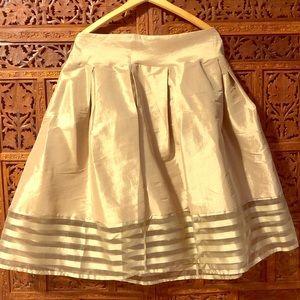 Dresses & Skirts - 50s fab! Gold high waisted skirt